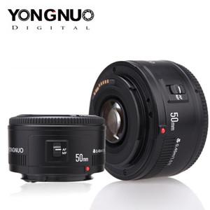 Yongnuo Lens Yn50mm F1.8 Yn EF 50mm F / 1.8 AF Lens YN50 Abertura Auto Foco para Canon EOS 60D 70D 5D2 5D3 600D DSLR Câmeras