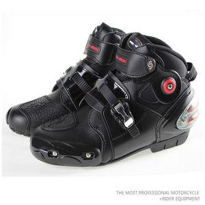 Pro-biker summer moder motorcycle boots SPEED BIKERS Microfiber leather racing boots waterproof A90031