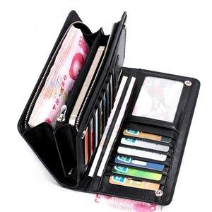 Long PU Leather Wallet Credit Card Holder Male Purse Large Capacity Wallets For Men Clutch Pocket Handbag Money Holders Package