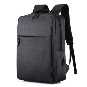 2020 Männer 15,6 Zoll Laptop USB-Rucksack-Schule-Beutel-Rucksack-Antidiebstahl-Teenager Teenager Reisen Freizeit Schulranzen Pack für männlich