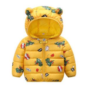 LZH Infant Baby Coat Autumn Winter Jacket For Baby Girls Jacket Kids Outerwear Coat For Baby Boys Jacket Newborn Clothes 201009