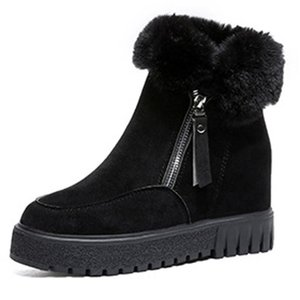 2020 New Autumn and Winter Comfortable and Versatile Fashion Short Boots Thick Warm Snow Boots