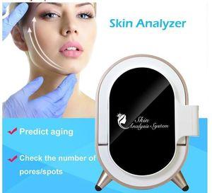 2020 New The Fifth Generation Magic Mirror Intelligent Skin Analyzer Face Skin Analysis Machine Beauty Equipment Facial Equipment
