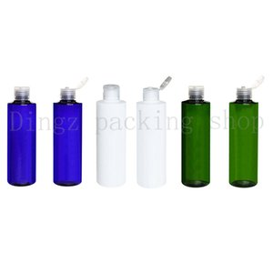 40PCS 250ML Shampoo Plastic Bottle for Women PET Makeup Storage Cosmetic Bottles Toner Essential Oil Package Lotion Containers