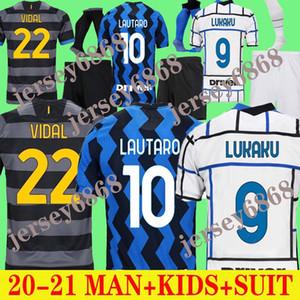 Yetişkin Suit 20 21 Lukaku Alexis Camisa De Futebol 2020 2021 LAUTARO 20 21 Yetişkin Takım Elbise Çocuk Jersey Lukaku Erkekler Yetişkin Takım Elbise Çocuk Forması
