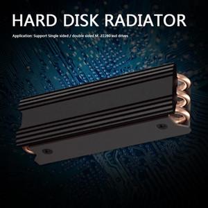 Алюминиевый сплав Cooler радиатор Бытовая Компьютерная безопасность M.2 SSD теплоотвод Запчасти для NVME М.2 2280 Solid State Drive