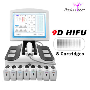 3D HIFU Corps et visage portable HIFU HIFU Élimination de la peau Machine à ultrasons Machine à ultrasons 11 lignes 2D HIFU