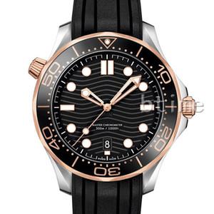 Moda cerámica de goma correa para hombre Mecánica SS 2813 Movimiento automático Hombres Relojes Deportes Relojes Diseñador Relojes de pulsera de lujo