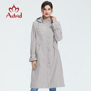 mizaç kadın ceket rüzgar geçirmez Astrid 2019 kadın trençkot büyük beden bahar moda uzun rüzgarlık düz renk AS-6325 1026
