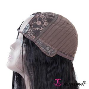 Straigth U جزء شعر مستعار شعر مستعار الإنسان للنساء اللون الطبيعي U part wig