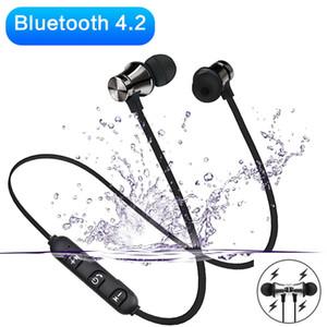 XT11 Магнитные Bluetooth Наушники Sport Windows Wireless Dexband Headbood Наушники с MIC STDSET с MIC для iPhone 12 Samsung