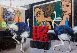 Angelo Accardi разговор между художниками дома украшения картины маслом на холсте стены искусства Холст Картины для гостиной 201003