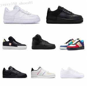 NIKE Air Force one 1 AF1 Le nouveau WMNS 07 FORCD Utility Cream Femmes filles Candy Macaron Shoes 1 Shadow Tropical Twist Sport Skateboard Sports Sports Chaussures WB06
