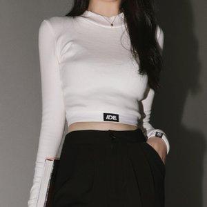 summer 2021 navel top Spring women's short long sleeve T-shirt for women