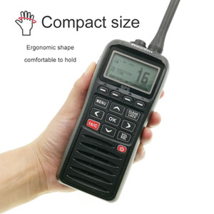 Marine Radio RS-38M With GPS VHF IP67 Waterproof Float Walkie Talkie Tri-watch 156.025-157.425MHz Transceiver two way radio