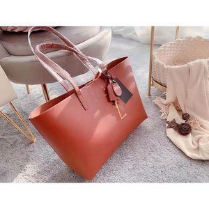 Rosa Sugao Frauen Handtasche Designer Geldbörsen Umhängetasche 2020 Neue Mode Tragetaschen 2 teile / satz Schöne Handtasche Echtes Leder Große Einkaufstasche S01