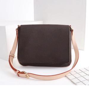 Designer Luxus Handtaschen Geldbörsen Mittelalter Crossbody Bag Frauen Marke Tasche Blume Briefträger Packung Echtleder Umhängetaschen