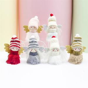 Pendentif personnalisé Poupée Elfe de Noël Pendentifs ORNEMENT Cadeaux Décorations extérieur 2020 Babioles en peluche Angel Girl 2 76xb F2