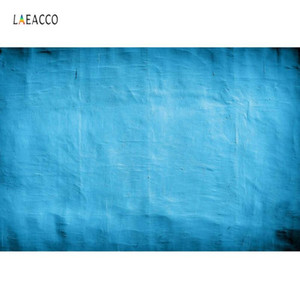Laeacco Surface Of Wall Gradient Solid Blue Color Texture Doll Pet Love Photography Backgrounds Photo Backdrops For Photo Studio