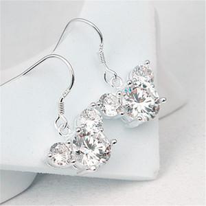 New fashion classic cartoon mini mouse zircon charm woman earrings earrings for women Ear Studs Pendientes Cartoon Movie