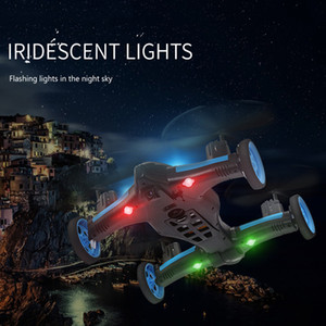 2.4G RC Drone Air-Ground Flying Car H23 Quadcopter with light One-key Return Remote Control Drones Model Helicopter Best Toys LJ200908