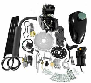 80CC 2 инсульта велосипеда мотоцикл бензиновый моторный комплект для электрического велосипеда горный велосипед комплект набор велосипедного газового двигателя мотор1