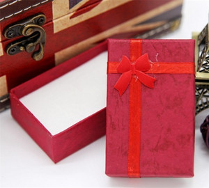 Bow Gift Box Multi Colour Necklace Pendants Earring Stud Organizer Jewelry Packing Paper Case Hot Selling Hot Sale 0 51zk L2