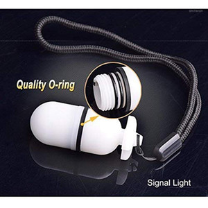 Underwater Strobe Signal Light Scuba Night Dive Marker LED Yellow Flashy Safety Lamp Firefly Diving Beacon Beam 200M Underwater1
