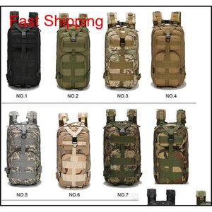 Tactical Backpack Military Backpack Oxford Sport Bag Molle Rucksacks 30L For Camping Climbing Bags Traveling Hiking Fishing Bags 2019 Bflzq