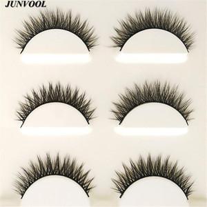 Eyelash Extension 15 Pairs Handmade 3D Mink Hair Beauty Thick Long False Mink Eyelashes Fake Eye Lashes Eyelash High Quality