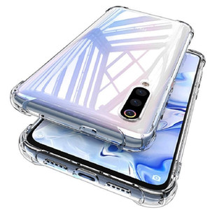 Shockproof Phone Case For Xiaomi Note10 CC9E A3 Redmi Note 9S 9 Pro MAX K30 Note 8 Pro 8A 8T Silicone Clear TPU Cover Cases