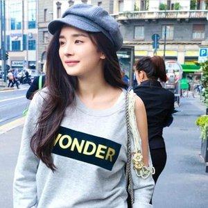 Nouvelle fille d'automne et d'hiver fille Version coréenne polyvalente Britannique Octagonal Hat Girl's Enfants Fashion
