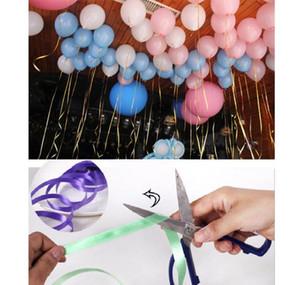 6 Roll / Set Balloon Rolo Rolo Rolo de Ondulação Corda Corda Do Casamento Festa de Aniversário Decoração DIY Presentes Crafts 10m * 5mm Wmtztzh Pets2010