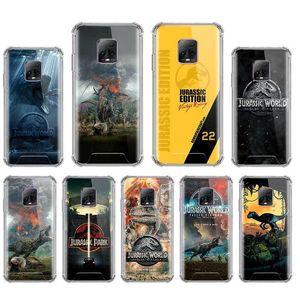 Jurassic World Ginosaur Capa Para Xiaomi redmi Nota 8 T8 9S 9 9A 9C 7 6 10X 4G K30 Pro Zoom Airbag Anti Queda Mobile Phone Fundas