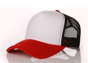 2021 summer mesh hats adjustable baseball caps men fashion hat summer trucker casquette women causal leather ball cap free shipping