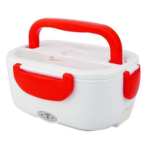 NEW Portable Lunch Box Food Container Car Electric Heating Food Warmer Rice Container 220V EU Plug