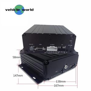 Araç Araç Kamyon Okul Otobüsü için 4Ch MDVR 1080P HDD Mobil DVR Black Box
