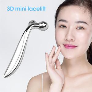 Rodillo masajeador facial 3D Forma de masaje portátil Y eliminador de arrugas lifting facial mediante rodillos de cuerpo completo Relajación 360 Instrumento Girar