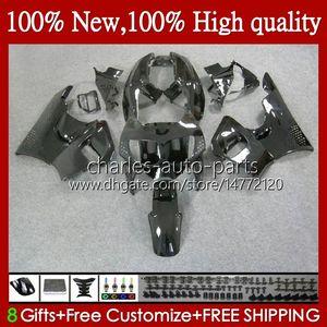 Corps de Honda CBR 893RR 900RR Noir Brillant CBR893RR 94 95 96 97 95HC.17 CBR893 CBR900 CBR 900 893 RR CBR900RR 1994 1995 1996 1997 Farécations