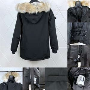 2020 hommes Designer Down Parkas Winter Coats Marques Vêtements Vêtements De Vêtements De Vêtements De Capuche Big Fur Down Vestes Manteau Hiver Doudoune Homme