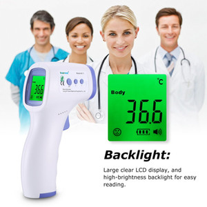 Household Non-Contact Infrared Thermometer Abs For Adults And Childs With LCD Display Digital Laser Temperature