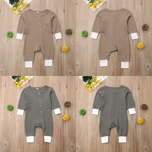 Дизайнер INS Детская бутика Одежда Младенческая Мальчик Одежда Детская Девушка Компания Длинные Рукавы Комбинезоны Новорожденные Одинные Одиночные Одичества 562 K2