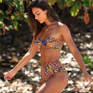 Sexy Bikini Set 2018 Summer Women Push Up Swimsuits Underwear High Waist Beach Bathingsuit Swimwear 2 Piece Swimsuit Bikinis L1