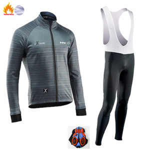 Pro team Cycling jersey bike long-sleeved shirt set suspenders trousers bicycle clothing TEAM CYCLING winter bike clothing