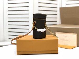 Diseñadores Bolsa de teléfono Mini Bolsas Bolsa de cubo de correa desmontable Hebilla de cadena Virgil Crossbody Bolsa Bolsos de hombro Bolso M44914