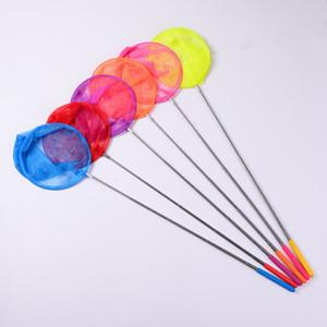 الاجتياح صافي خمسة الفولاذ المقاوم للصدأ شباك الصيد تلسكوبي اللعب في الهواء الطلق للأطفال الحشرات اصطياد الشباك وشبكات الصيد فراشة GWE4433