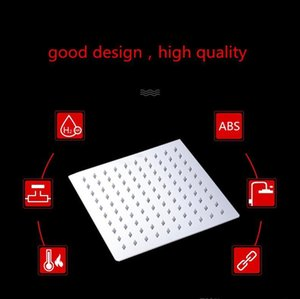 Hot Selling Temperature Control Romantic Light Bathroom Shower Heads 8 Led Lights 7 Colors 6 Inch Square Shower Head jllTbQ sport777