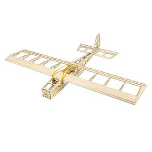 Balsawood Mini Airplane Model Mini Stick Wingspan Laser-cut Airplane Models RC Building Toys Woodiness model  WOOD PLANE LJ201210