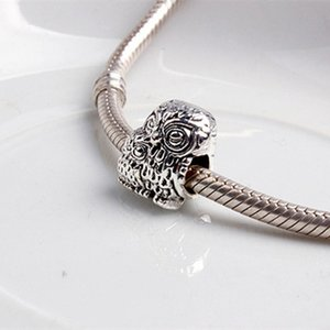Owl Parent And Kid Alloy Charm Bead Fashion Women Jewelry Stunning Design European Style For DIY Bracelet