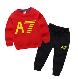 2020 SICAK SAT moda klasik Stil Çocuk yeni kız ve erkek klasik Spor Bebek Bebek Kısa Kollu Elbise Çocuk ceket Suit